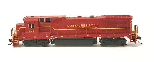 N Scale - Atlas - 48738 - Locomotive, Diesel, GE Dash 8 - GM Demonstrator - 808