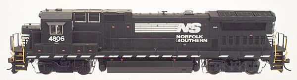 N Scale - Atlas - 48778 - Locomotive, Diesel, GE Dash 8 - Norfolk Southern - 4806