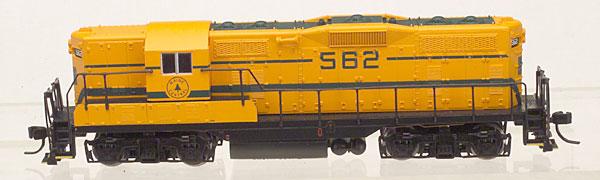 N Scale - Atlas - 48063 - Locomotive, Diesel, EMD GP7 - Maine Central - 562