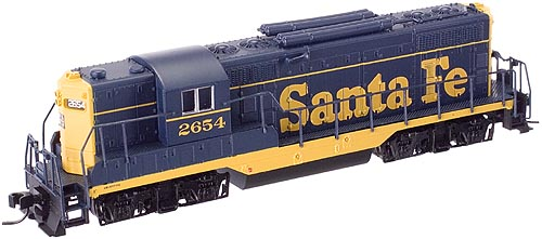 N Scale - Atlas - 50815 - Locomotive, Diesel, EMD GP7 - Santa Fe - 2651