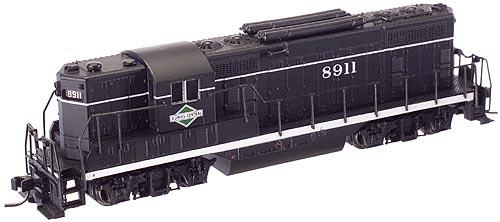 N Scale - Atlas - 50818 - Locomotive, Diesel, EMD GP7 - Illinois Central - 8911
