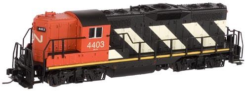 N Scale - Atlas - 48366 - Locomotive, Diesel, EMD GP9 - Canadian National - 4403