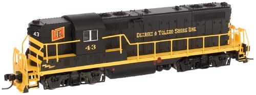 N Scale - Atlas - 48085 - Locomotive, Diesel, EMD GP7 - Detroit and Toledo Shore Line - 43