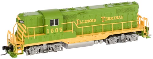 N Scale - Atlas - 48090 - Locomotive, Diesel, EMD GP7 - Illinois Terminal - 1502