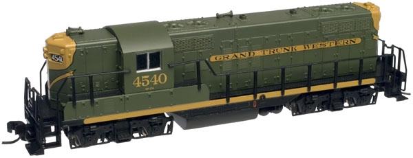N Scale - Atlas - 50887 - Locomotive, Diesel, EMD GP9 - Grand Trunk Western - 4540