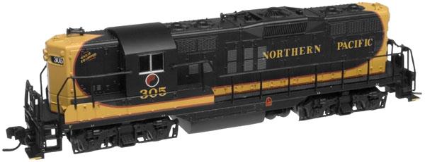 N Scale - Atlas - 50890 - Locomotive, Diesel, EMD GP9 - Northern Pacific - 305
