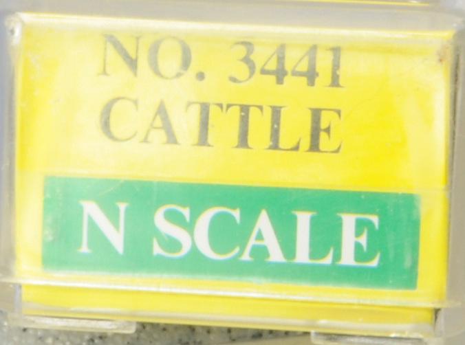 N Scale - Model Power - 3441 - Stock Car, 40 Foot, Wood - Burlington Northern - 508590
