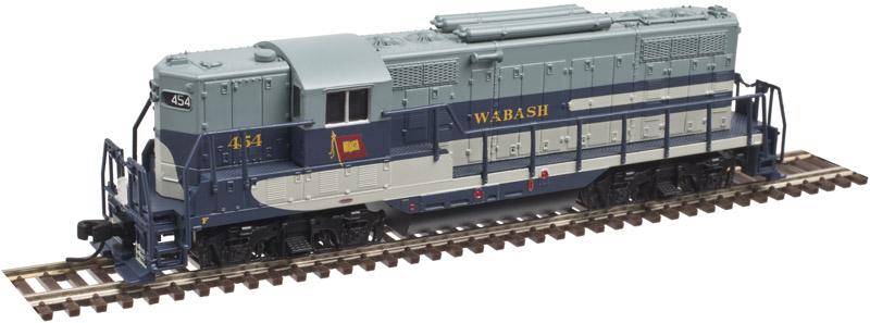 N Scale - Atlas - 40 002 953 - Locomotive, Diesel, EMD GP7 - Wabash - 456