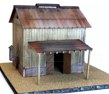 N Scale - Rail Scale Models - 1135 - House - Residential Structures