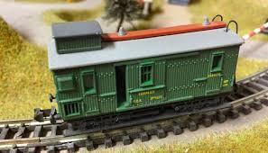 N Scale - Ibertren - 224 - Baggage Car, Wood, 2-Axle - MZA - 673