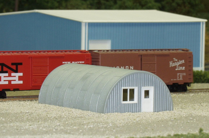 N Scale - Rix Products - 628-0710 - Grain Bin - Undecorated