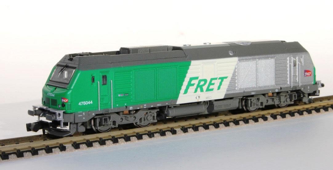N Scale - Rocky-Rail - RR475044 - Locomotive, Diesel, Alstom Prima - SNCF - 475044