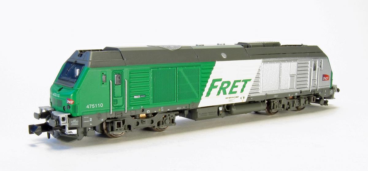 N Scale - Rocky-Rail - RR475110 - Locomotive, Diesel, Alstom Prima - SNCF - 475110