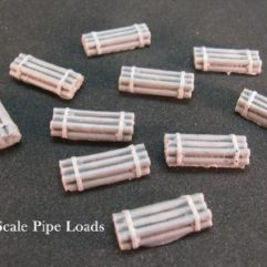 N Scale - DP Model Train Products - 2206 - Loads - Painted/Unlettered - Pipes