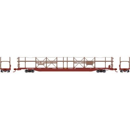 N Scale - Athearn - 14389 - Autorack, Open Side, Bi-Level, F89-F - Louisville & Nashville - 913814