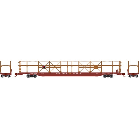 N Scale - Athearn - 14393 - Autorack, Open Side, Bi-Level, F89-F - Northern Pacific - 913601