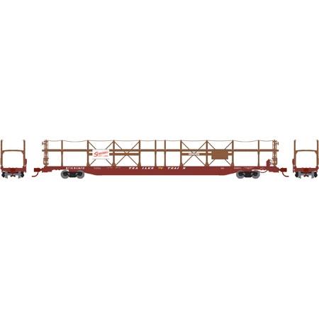 N Scale - Athearn - 14398 - Autorack, Open Side, Bi-Level, F89-F - Seaboard Air Line - 913672
