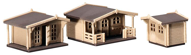 N Scale - Faller - 232209 - Summer Homes - Residential Structures