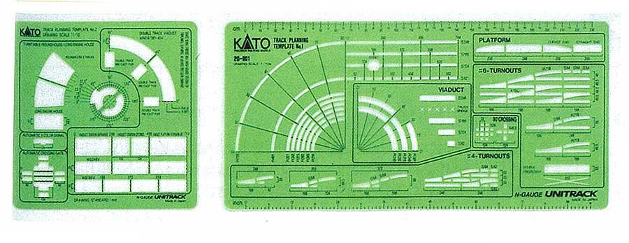 N Scale - Kato - 20-901 - Track, Unitrack Template - Track, N Scale