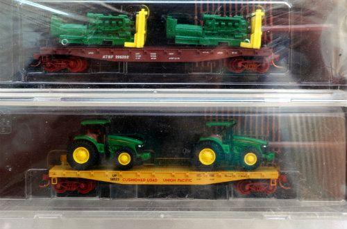 N Scale - Micro-Trains - NSC MTL 08-63 - Flatcar, 50 Foot - Various - 206202, 58523
