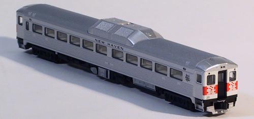 N Scale - Kato USA - 166-0303 - Railcar, Diesel, Budd RDC - New Haven - 137