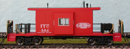 N Scale - Bluford Shops - 21030 - Caboose, Transfer - Family Lines - 6642