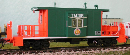N Scale - Bluford Shops - 22010 - Caboose, Transfer - Southern Pacific - 1