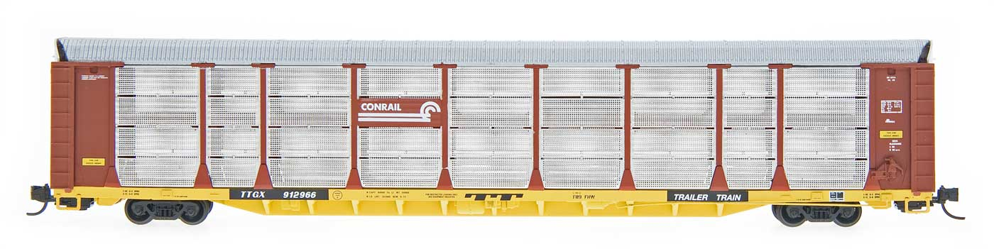 N Scale - Red Caboose - RM-19236-17 - Autorack, Enclosed, Bi-Level - Conrail - 912927