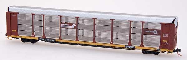 N Scale - Red Caboose - RM-19127-25 - Autorack, Enclosed, Bi-Level - Conrail - 604389