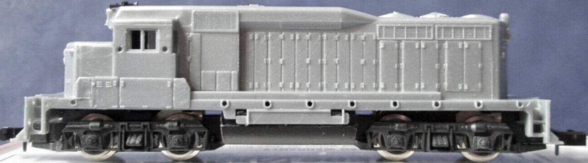 N Scale - Arnold - 5056 - Locomotive, Diesel, EMD GP30 - Undecorated