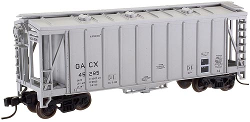 N Scale - Atlas - 38724A - Covered Hopper, 2-Bay, GATX Airslide 2600 - GACX - 45429