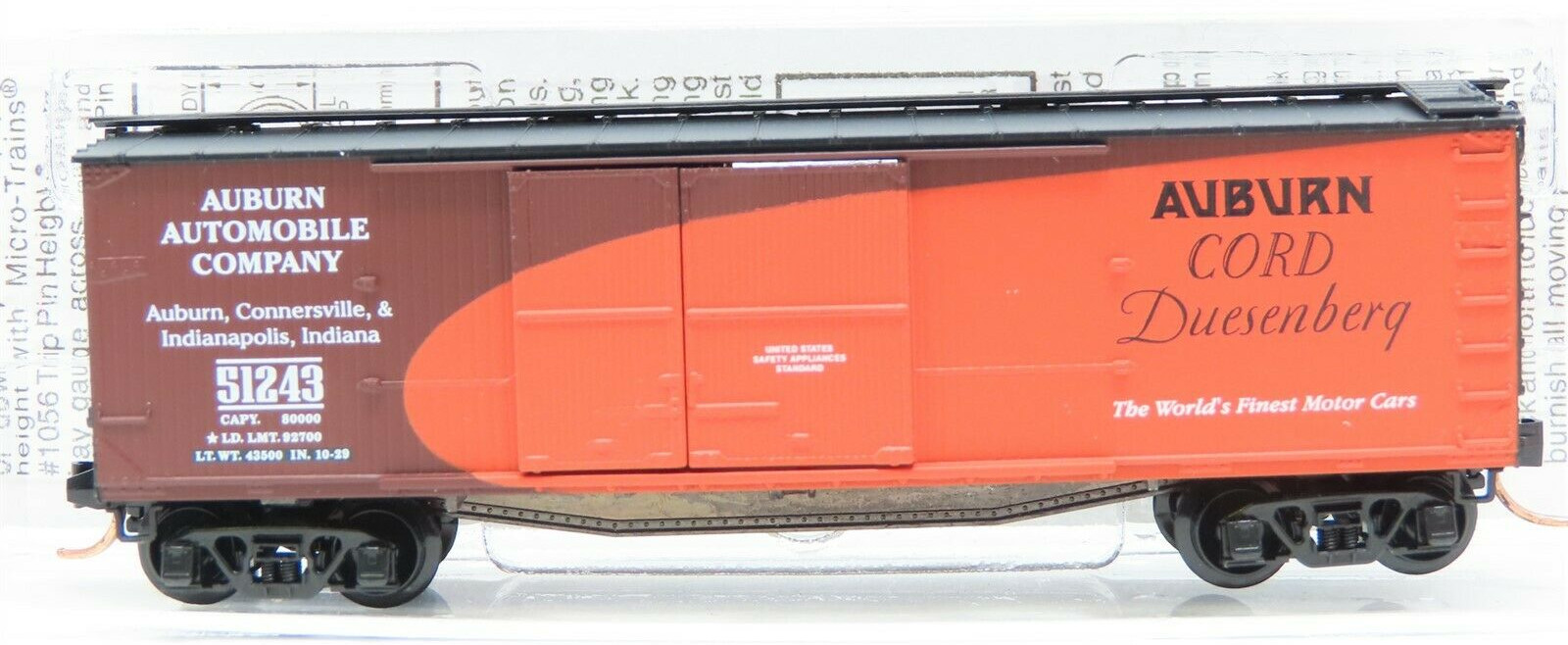 N Scale - Micro-Trains - NSC 03-47 - Boxcar, 40 Foot, Double Wood Sheathed - Fading Memories - 51243