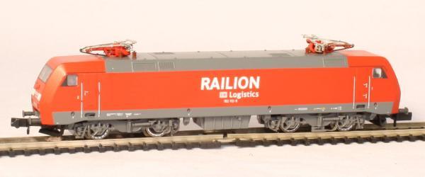 N Scale - Arnold Hornby - HN2020 - Locomotive, Electric, Siemens ES64 F (BR 152) - Railion - 152 112-9