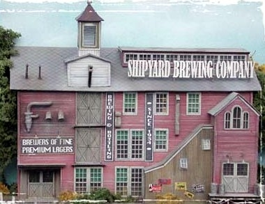 N Scale - Bar Mills - 0851 - Brewery - Industrial Structures - Brewing Company