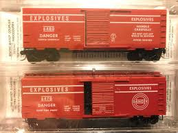 N Scale - Micro-Trains - NSC 98-91 - Assorted - Explosives - 6470. 6480