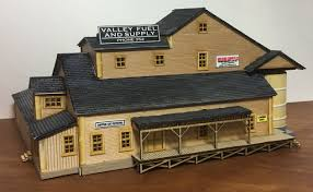 N Scale - Laser-Art - 893 - Fuel Depot - Industrial Structures - Valley Fuel & Supply