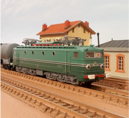 N Scale - Startrain - 60138 - Locomotive, Electric, SNCF CC 7100 - SNCF - CC 7121