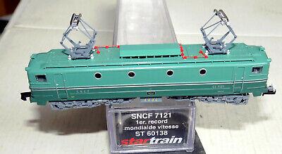 N Scale - Startrain - 60138 - Locomotive, Electric, SNCF CC 7100 - SNCF - CC 7121