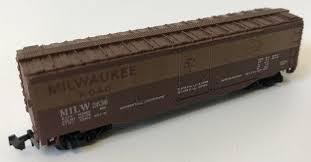 N Scale - Model Power - 70XX - Reefer, 40 Foot, Steel - Milwaukee Road - 2636