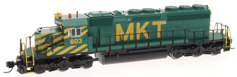 N Scale - InterMountain - 69348S-01 - Locomotive, Diesel, EMD SD40-2 - Missouri-Kansas-Texas - 601