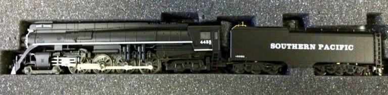 N Scale - Con-Cor - 0001-003876 - Locomotive, Steam, 4-8-4 GS-4 - Southern Pacific - 4430
