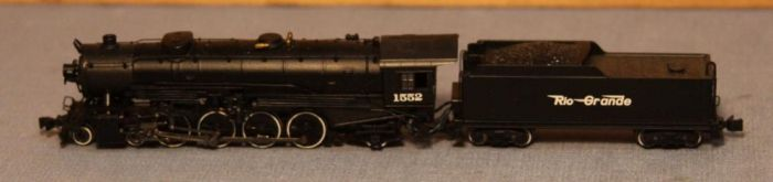 N Scale - Bachmann - 82514 - Locomotive, Steam, 4-8-2 Mountain - Rio Grande - 1551