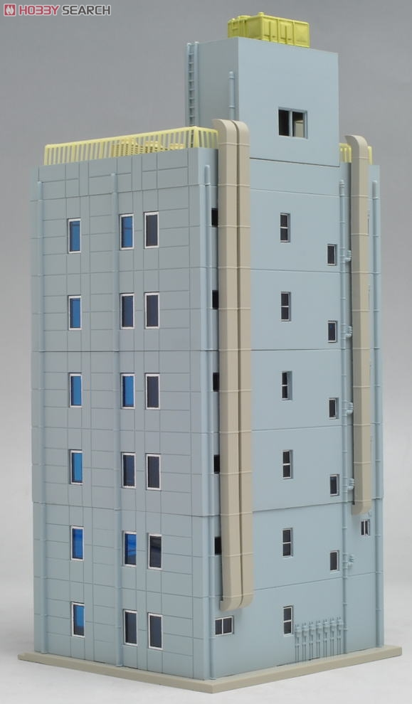 N Scale - Kato - 23-433A - 6 Story Department Store - Commercial Structures - DioTown Metro Series 6 Floor Department Store, Blue (Shopping Complex 1, Blue)