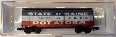 N Scale - Bev-Bel - 23001 - Boxcar, 40 Foot, PS-1 - Bangor and Aroostook - 61570