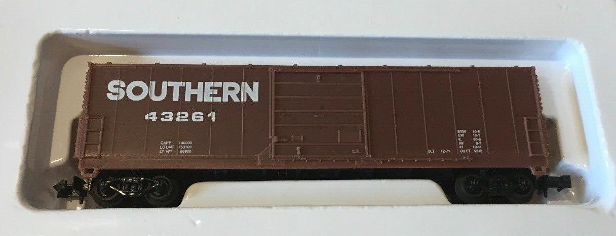 N Scale - Industrial Rail - 7793SOU - Boxcar, 50 Foot, Evans 5277 - Southern - 43261