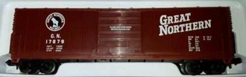 N Scale - Industrial Rail - 7793GN - Boxcar, 50 Foot, Evans 5277 - Great Northern - 17879