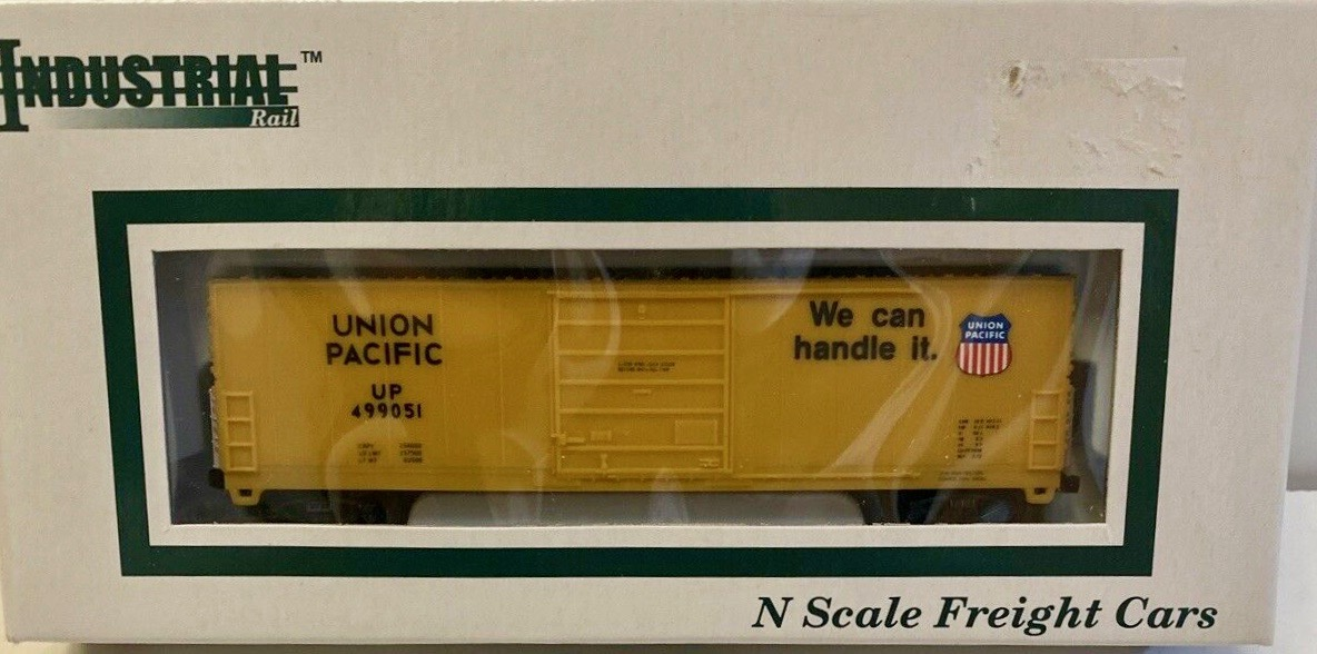 N Scale - Industrial Rail - 7793UP - Boxcar, 50 Foot, Evans 5277 - Union Pacific - 490051