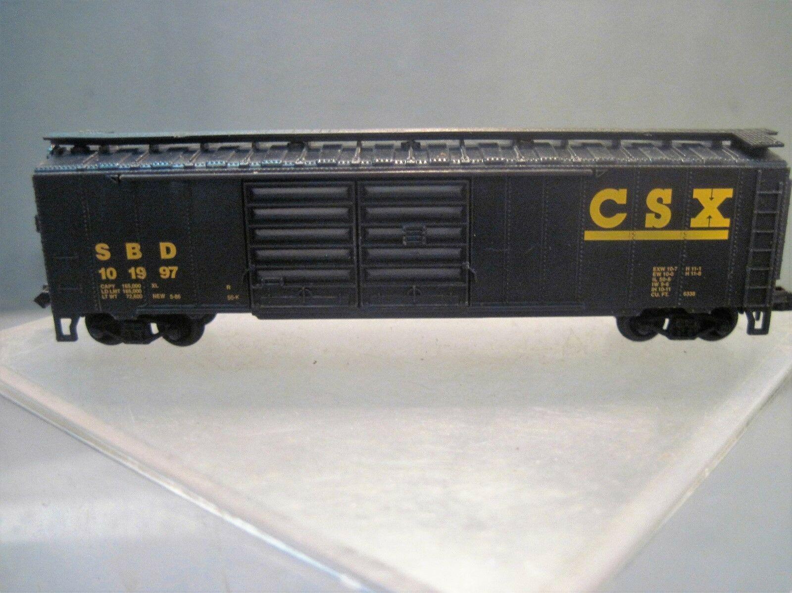 N Scale - Industrial Rail - 7793DDCSX - Boxcar, 50 Foot, Steel, Double Door - CSX Transportation - 101997