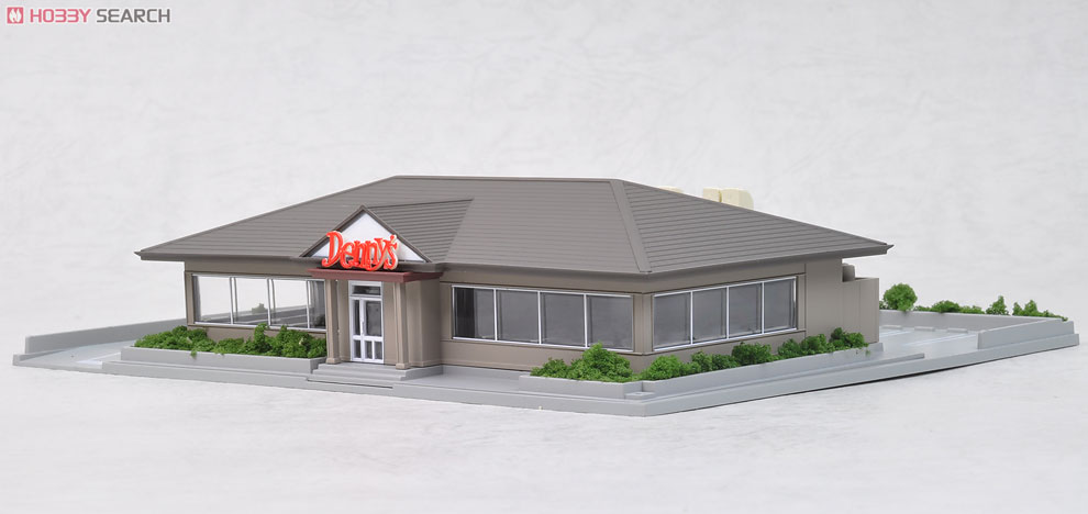 N Scale - Kato - 23-407 - Restaurant - Commercial Structures - DioTown The Classic Diner (Family Restaurant B Denny`s Style)
