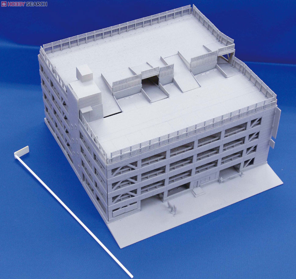 N Scale - Skynet - 092521 - 5 Level Parking Structure - Commercial Structures